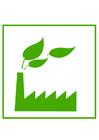 bild miljövänlig fabrik