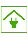 bild miljövänligt hus