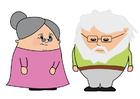 bild mormor och morfar