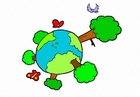 bild natur - klimat - jorden