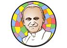 bild påven Johannes Paulus II