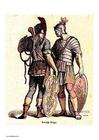 bild Romerska soldater