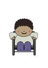 bild rullstolsanvändare