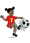 bild spela fotboll