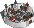 bild stad omgiven av mur