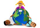 bild ta hand om planeten