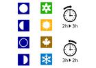 bild tid - årstider