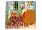 bild Vincent van Gogh - sovrum i Arles