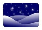 bild vinterlandskap