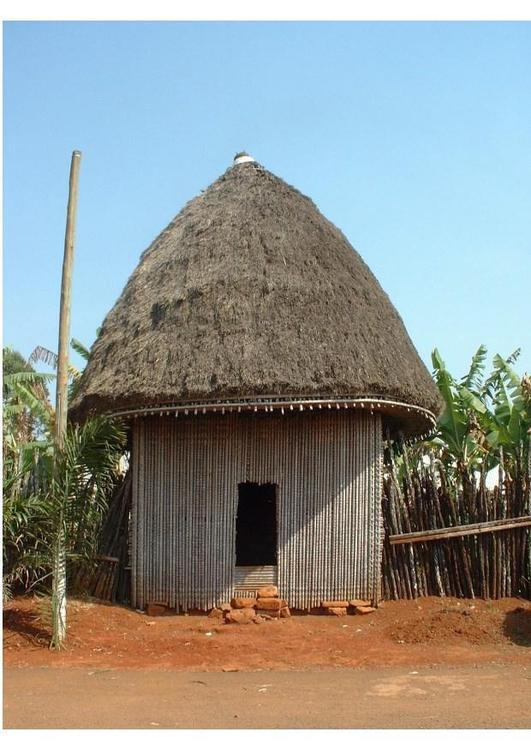 afrikansk hydda
