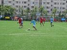 Foto att spela fotboll