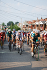 Foto cykel racing