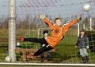 Foto fotbollsmålvakt