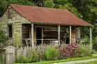Foto hus för slavar