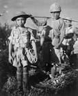 Foto inga barn i kriget