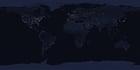 Foto Jorden på natten
