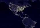Foto Jorden på natten - urbana områden, 3