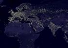 Foto Jorden på natten - urbana områden 4