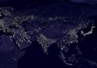 Foto Jorden på natten - urbana områden 5
