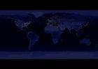Foto Jorden på natten - urbana områden