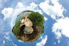Foto Jorden - panomama-effekt