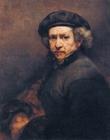 Foto målning av Rembrandt