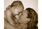 Foto mor och dotter