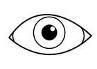Målarbild öga