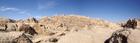 Foto öken nära Petra i Jordanien