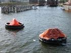 Foto räddningsflotte