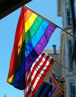 Foto regnbågsflagga