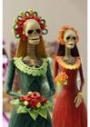Foto skelett - statyetter