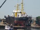 Foto skepp i torrdocka