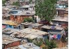 Foto slum i Soweto, Sydafrika