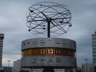 Foto världsklocka - Berlin