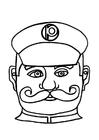 Hantverk Polis mask