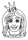 Hantverk Princess mask