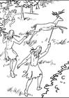 Målarbild 1 a jägare