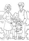 Målarbild 1. familj