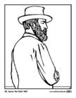 Målarbild 20 James Garfield