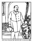 Målarbild 22 - 24 Grover Cleveland
