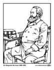 Målarbild 23 Benjamin Harrison