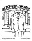 Målarbild 30 Calvin Coolidge