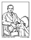 Målarbild 31 Herbert C Hoover