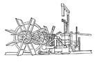 Målarbild Ã¥ngbÃ¥tsmaskineri