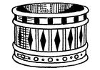 Målarbild armband