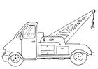 Målarbild bärgningsbil