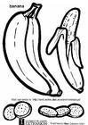 Målarbild Banan