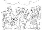 Målarbild Barn frÃ¥n Västvärlden i muslimsk kultur