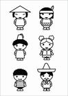 Målarbild barn - kulturer
